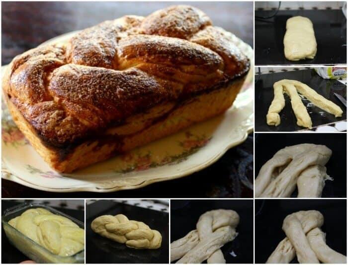 quick brioche recipe step by step o forming the braid|restlesschipotle.com