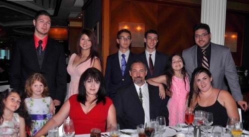 marye audet family on cruise