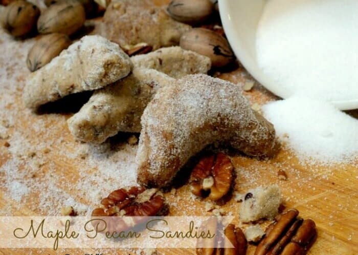 maple pecan sandies cookies|restlesschipotle.com
