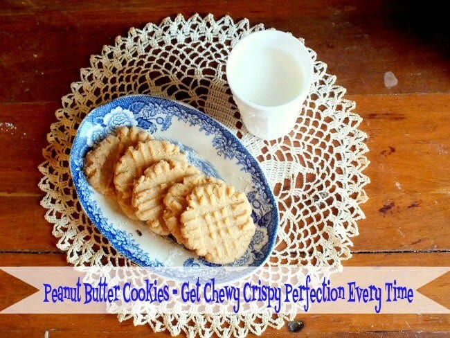chewy peanut butter cookies|RestlessChipotle.com