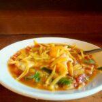 slow cooker chicken fajita soup is easy comfort food|lrestlesschipotle.com