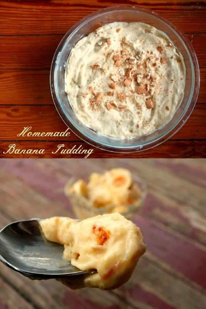 Old fashioned banana pudding made from scratch is so easy and so much better than the kind that begins with a box!|restlesschipotle.com