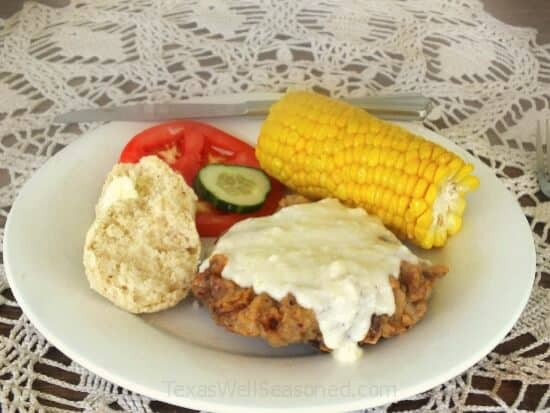 chicken fried steak dinner from restlesschipotle.com