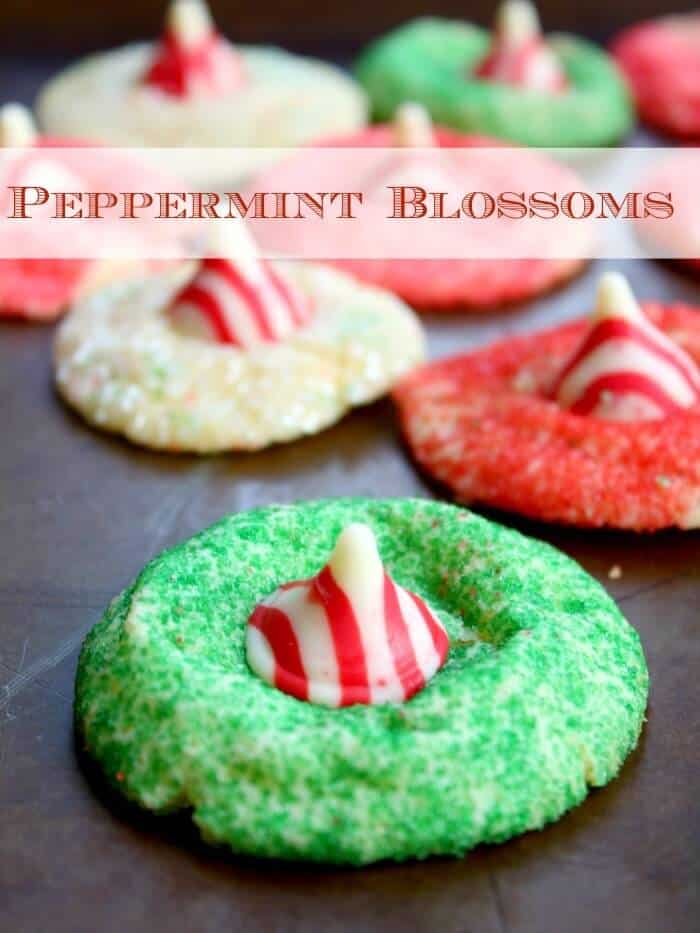 peppermint blossom cookies are minty, buttery perfection. Restlesshchipotle.com