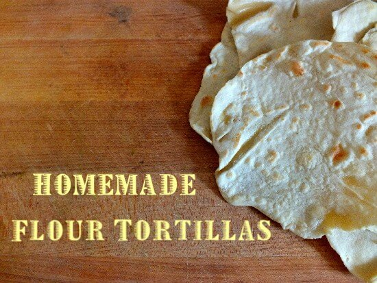 homemade tortillas are easy and you can make them with either white or whole wheat flour. RestlessChipotle.com