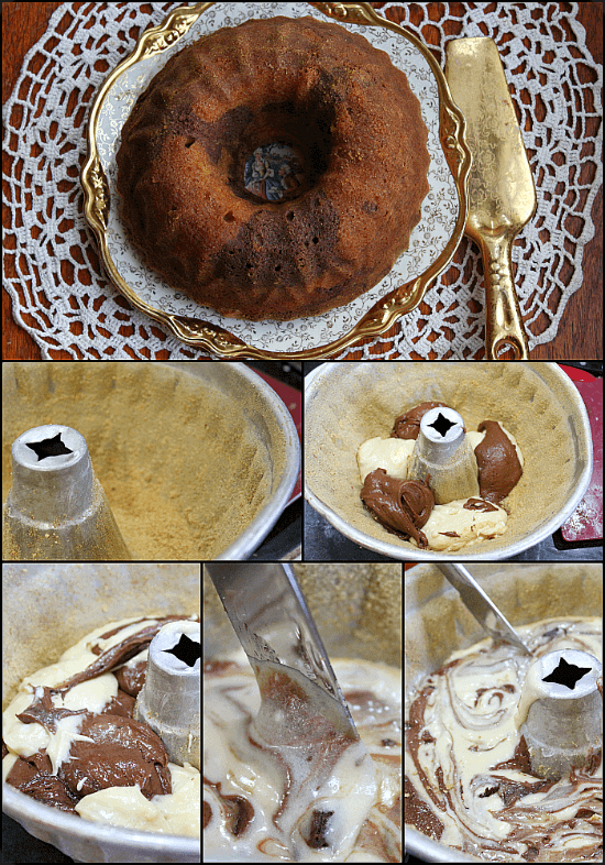 old fashioned marble pound cake recipe is so good and so pretty! restlesschipotle.com