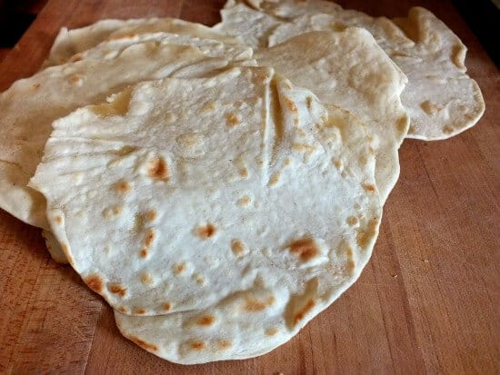 Flour tortillas are best fresh and they are easy to make at home - restlesschipotle.com