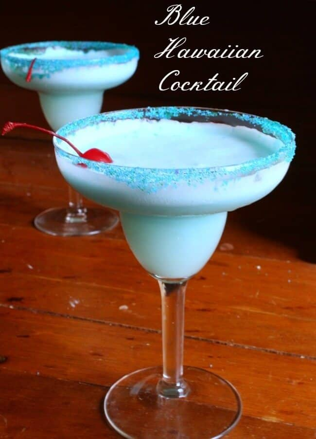 Blue Hawaiian Cocktail Recipe | Restless Chipotle