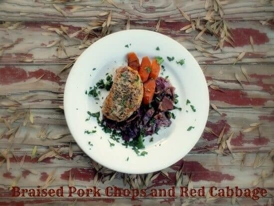 braised pork and red cabbage is an easy, slow cooker comfort meal - restlesschipotle.com