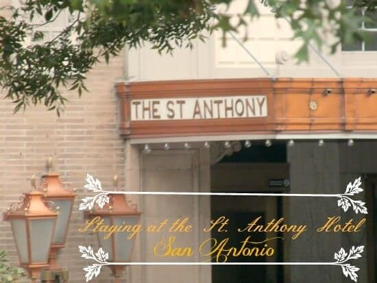 Staying at the historic St Anthony Hotel in San Antonio was an amazing experience if you are going to be staying in San Antonio -restlesschipotle.com