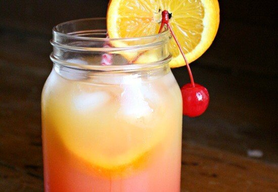 mango tequila sunrise is an easy, refreshing cocktail that isn't too girly or too boozy. restlesschipotle.com