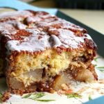 small image of apple bread loaf for recipe card