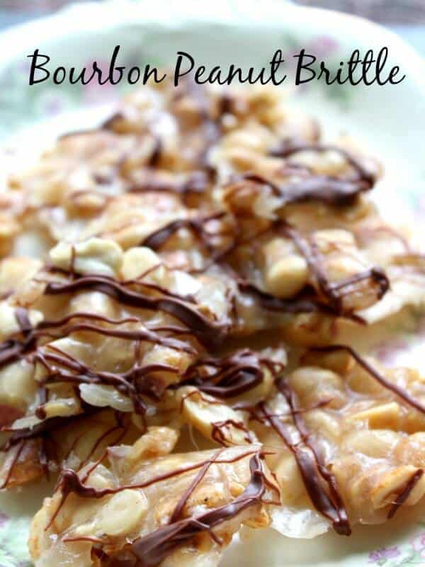 bourbon peanut brittle is done in less than 20 minutes and it's super easy to make. SO good! --restlesschipotle.com