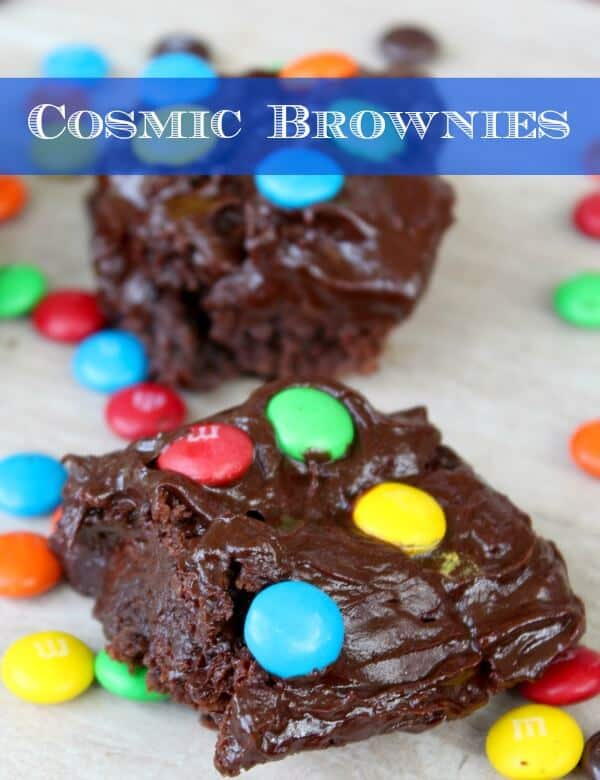 copy cat cosmic brownies are almost like you remember them... but chocolatey-er, gooey-er, and totally yummy. Restlesschipotle.com