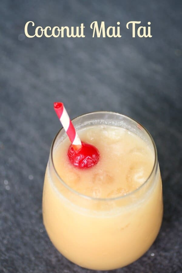 Coconut Mai Tai is a taste of the tropics when you can't go on vacation... sweet, fruity, and exotic. restlesschipotle.com