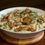 grilled chicken alfredo feat
