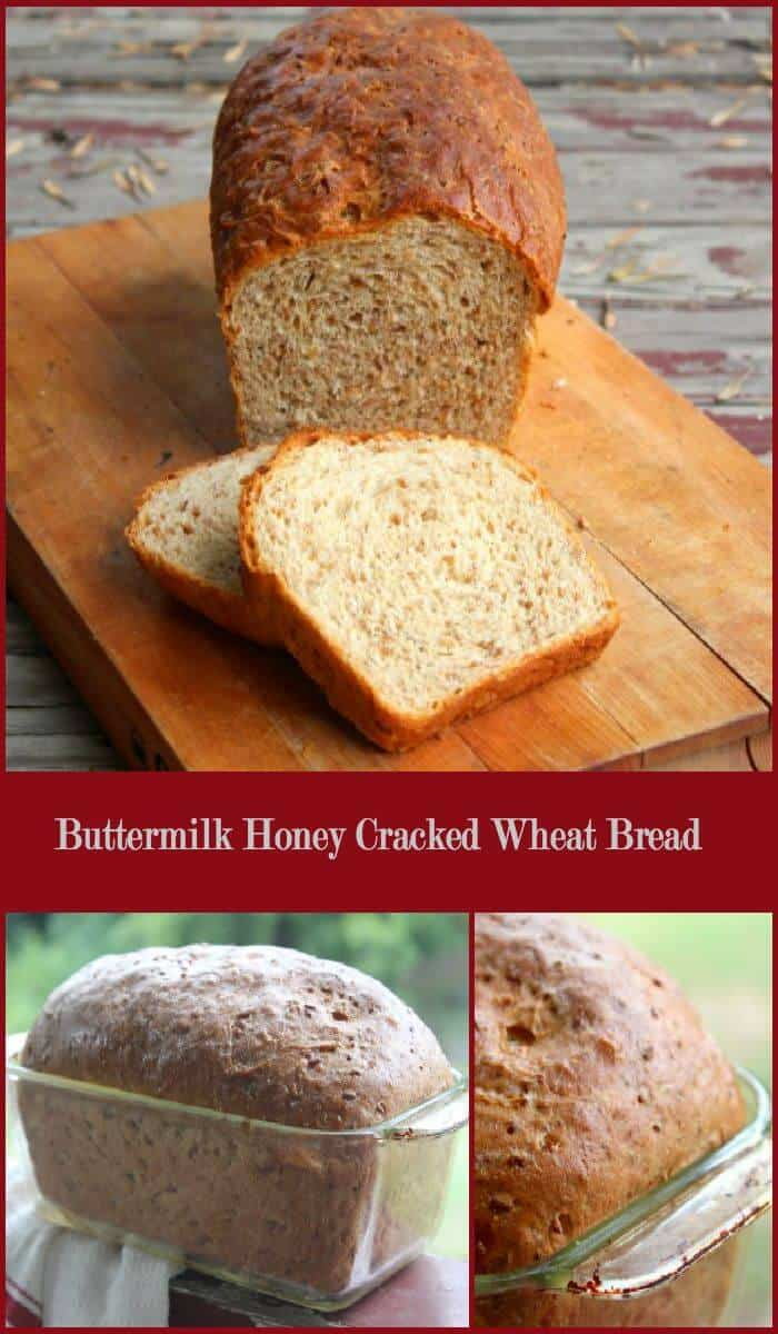 Buttermilk Honey Cracked Wheat Bread is nutty and slightly sweet with a light crumb and chewy bits of cracked wheat throughout. It's a great bread for everything from sandwiches to french toast. Restlesschipotle.com