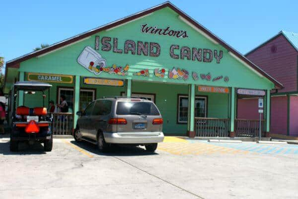 Winton's IslandCandy Store is a must see on your Port Aransas Vacation from RestlessChipotle.com