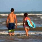 Need Port Aransas Vacation ideas? We had a great time swimming in the surf on the uncrowded beach. From RestlessChipotle.com