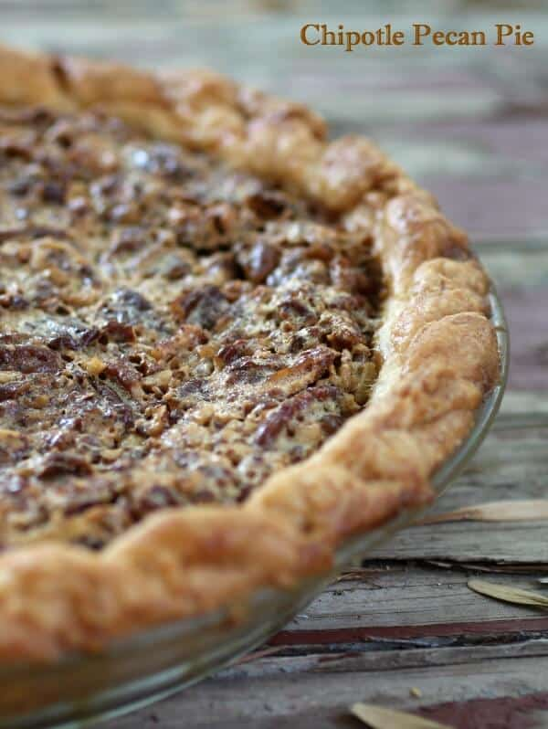 chipotle pecan pie is sweet perfection with a smoky bite. RestlessChipotle.com