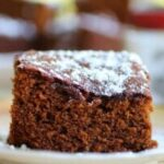 homemade gingerbread recipe