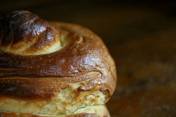 Homemade honey bun has a thin, crispy honey-sugar glaze. Restlesschipotle.com