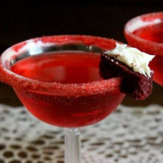 A Red Velvet Martini? Yes please! A beautiful crimson color and a very definite red velvet cake flavor. Restlesschipotle.com