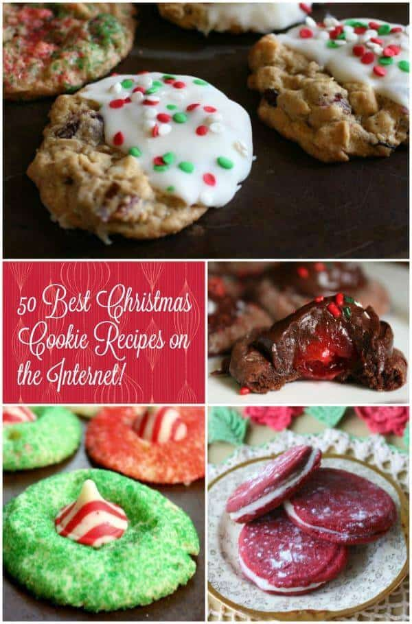 Looking for the best Christmas cookie recipes ever? Perfect for gift giving and cookie plates, these 50 recipes  are just right. There's something for everyone. From Restlesschipotle.com