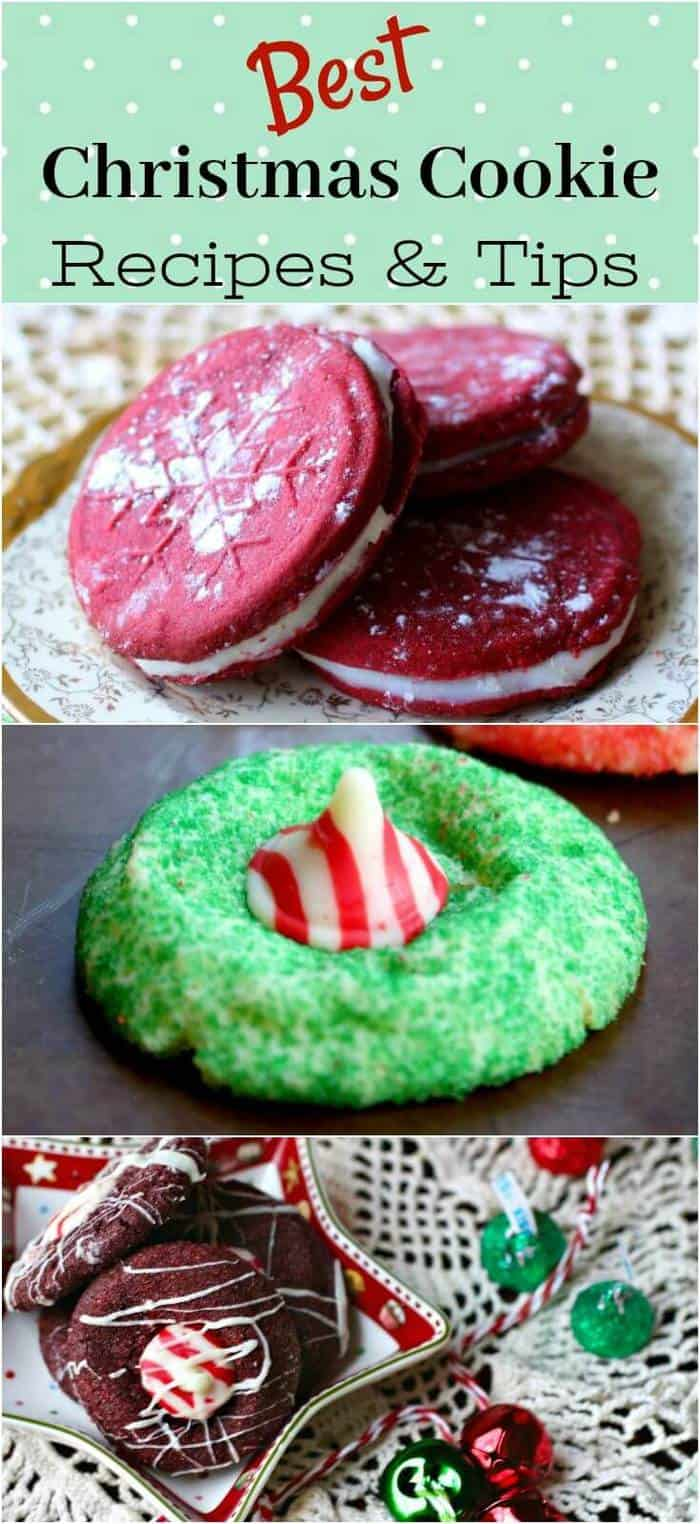 Over 50 of the best Christmas cookie recipes and tips anywhere  - pin this collection - you'll want it! From RestlessChipotle.com