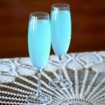 easy cocktail recipes tiffany blue sparkler feat