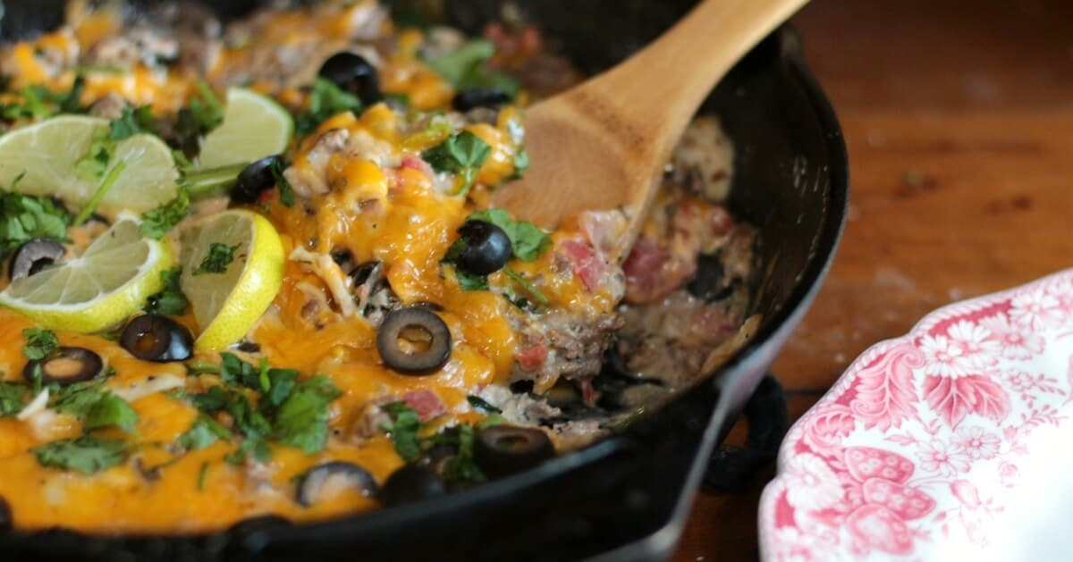 Beef Taco Skillet Dinner | Restless Chipotle