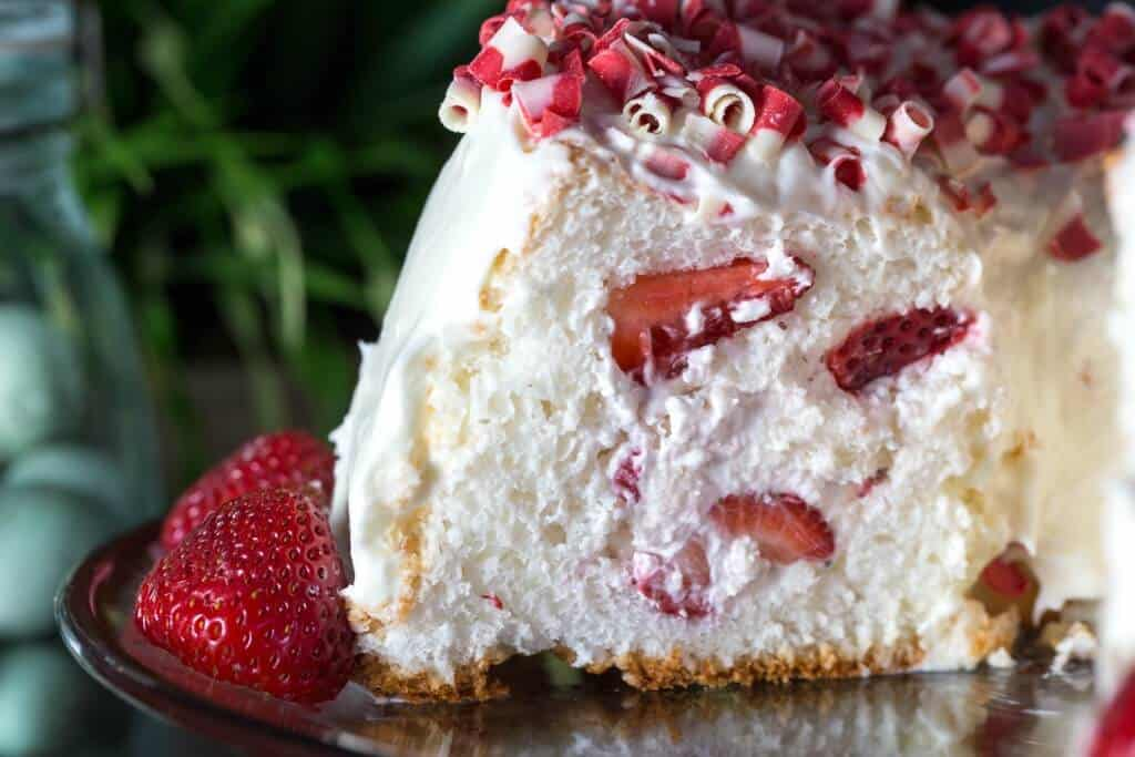 Strawberry Filled Angel Food Cake Restless Chipotle
