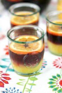 Fruity sangria meets orange juice in this twist on the Tequila Sunrise. Sangria Sunrise Recipe   Take Two Tapas