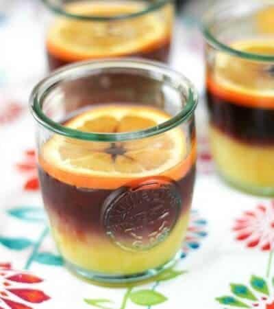 Fruity sangria meets orange juice in this twist on the Tequila Sunrise. Sangria Sunrise Recipe | Take Two Tapas