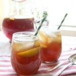 bourbon peach tea feature image