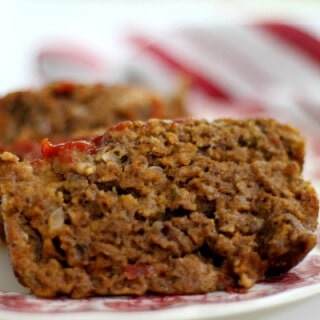 Old fashioned meatloaf recipe just like mom used to make from RestlessChipotle.com