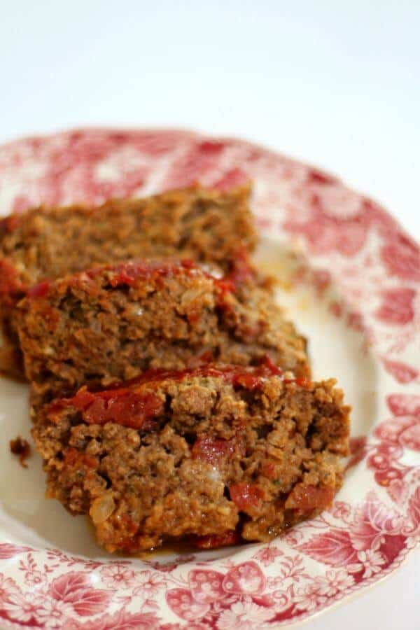 This old fashioned meatloaf recipe is super easy and freezes well. From RestlessChipotle.com