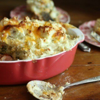 Smoked sausage shepherds pie is an easy weeknight meal the whole family will love. From RestlessChipotle.com