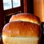 amish white bread loaves