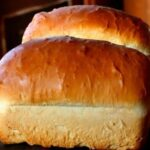 Amish white bread is sweet and soft.