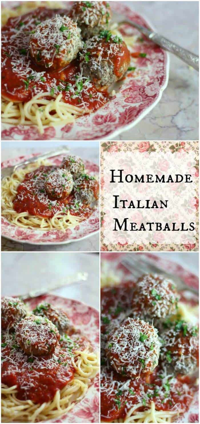 Homemade Italian meatballs are the real deal! SO good - our family loves them! From restlesschipotle.com
