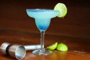 Frozen Hypnotiq Margarita is slushy, sweet, and full of tangy citrus flavor. From RestlessChipotle.com