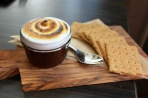 S'mores cake from Stella San Jac is a perfect combination of flavors and textures. RestlessChipotle.com