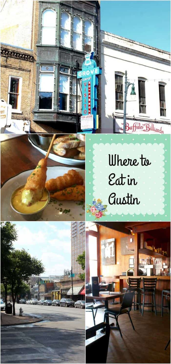 When we stayed in downtown Austin we were in the middle of the Entertainment district close to 6th Street. Here are three of the restaurants we ate at and my thoughts about them. Where to eat in Austin? That's easy!