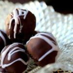 Easy, creamy dark chocolate truffles freeze well. Keep them on hand to serve with after dinner coffee! Click through for the recipe -- You'll love it. From RestlessChipotle.com