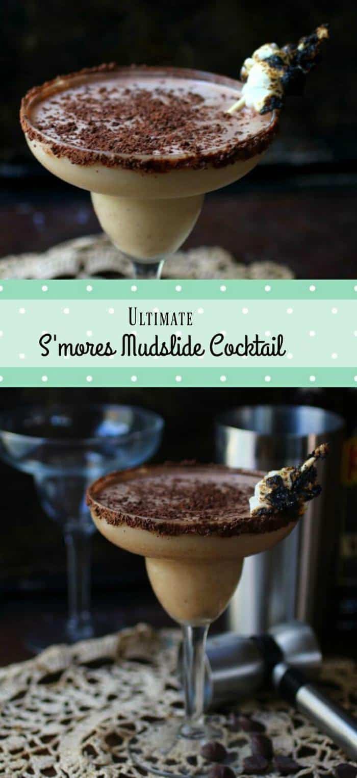 You're going to love this ultimate mudslide cocktail recipe! Best chocolate cocktail ever! From RestlessChipotle.com
