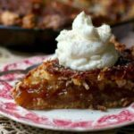This old fashioned coconut pie recipe is similar to pecan pie. from RestlessChipotle.com