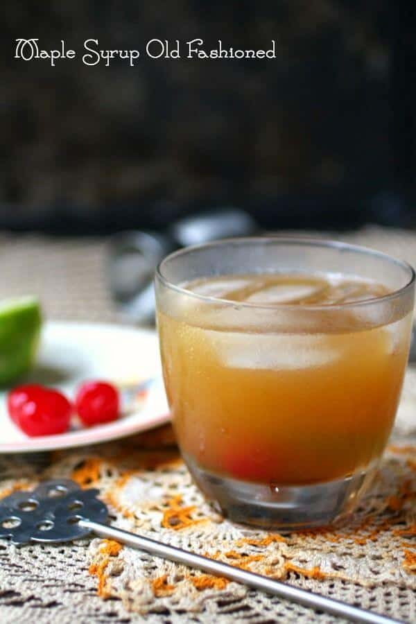 Maple syrup old fashioned is a classic cocktail with a fall twist From restlesschipotle.com