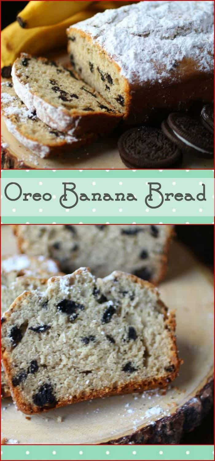 Your family will love this easy banana bread with an explosion of Oreo cookie flavor in each bite. Best banana bread ever and definitely a family favorite! From RestlessChipotle.com