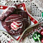 Gotta love these easy red velvet Hershey Kiss Cookies! From RestlessChipotle.com